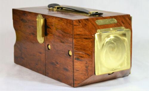 BOX CAMERA FOLMER GRAFLEX CAMERA FINGERPRINT 71-91-YR-OLD VINTAGE CUSTOM ETIMOE