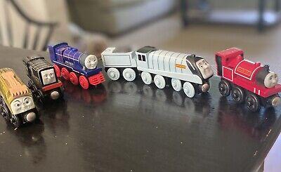 Thomas The Train Wooden Lot. Skarloey, Spencer, Hank, Deisel & Deisel 10.