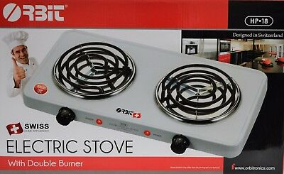 Electric Stove with Double Burner  110 VOLT ONLY