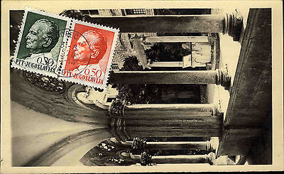 Dubrovnik Ragusa Kroatien Jugoslawien Postcard Stamp Briefmarke Jugoslavija