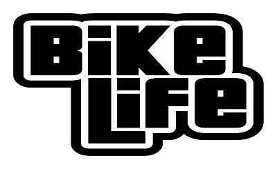 Bike Life Decal Sticker for MTB DH XC BMX Road CX. Fox Bell Smith Trek