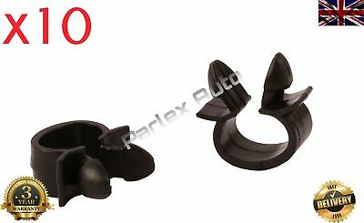 10pcs Wiring Cable Loom Harness Holder Clips (7703079070) Renault VW Alfa Romeo