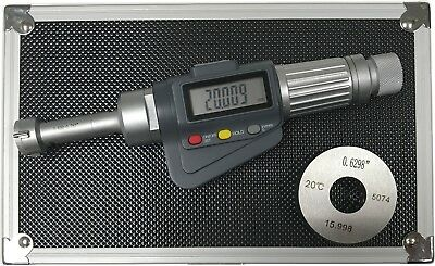 3-point Internal Micrometer Hole Bore Gauge Gage 0.65-0.8 0.000050.001mm