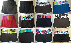 NWT-LA-BLANCA-skirted-hipster-swimsuit-bikini-bottom-pant-6-8-10-12-14-16-CHOOSE