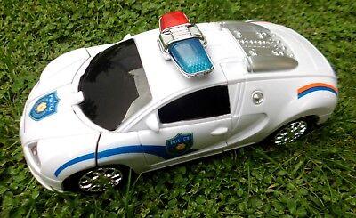 Polizeiauto Transformer Roboter mit Beleuchtung und Fernbedienung OVP NEU