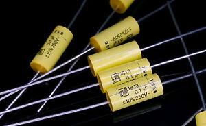 [10 pcs] Roederstein MKT 1813 100nF 250V 0,1uF axial film foil capacitors - Warszawa, mazowieckie, Polska - Zwroty są przyjmowane - Warszawa, mazowieckie, Polska