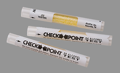 CheckPoint Disposable Breath Alcohol Test - .02 BrAC - Bag of 5 Tests ($2.67 ea)
