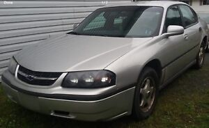 Parting out 2001 impala.