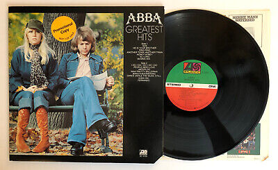 ABBA - Greatest Hits - 1976 US Promo 1st Press SD 18189 (NM) Ultrasonic Clean