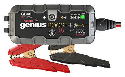 (NOCO GB40 Genius Boost HD 1000 Amp 12V Gas/Diesel UltraSafe Lithium Jump Starter)