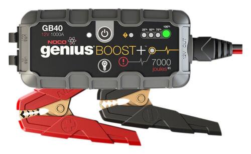 NOCO GB40 Genius Boost HD 1000 Amp 12V Gas/Diesel UltraSafe Lithium Jump Starter