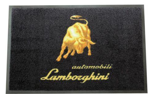 Lamborghini Automobilia Emblem Floor Door Mat