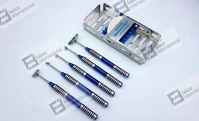 Soft Brushing Kit Set Of 5 Dental Implant Surgery Instruments