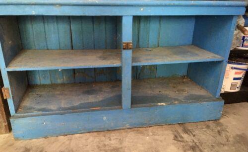 Antique Wood Kitchen Cabinet Primitive FarmHouse Cupboard 1800s SALVAGE PROJECT