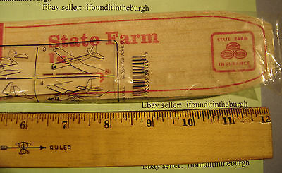 State Farm Insurance Balsawood Plane Balsa Wood Airplane State Farm Agent Pics