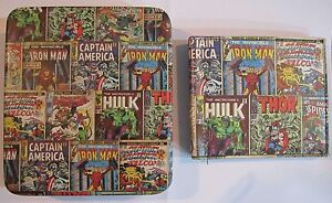 Avengers Slimfold Wallet Collector Tin Marvel Comics Thor Iron Man Hulk 0001
