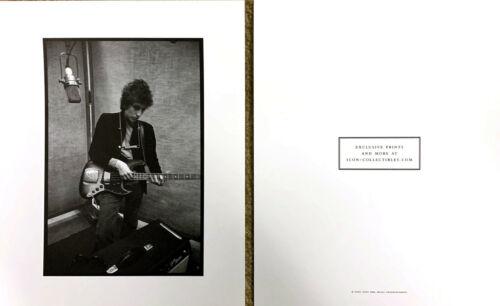 Bob Dylan 1965 studio portrait print NEW 2007 Sony promo Icon Collectibles