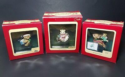 Christmas Heirloom Ornaments - Vintage Heirloom Collection Carlton Cards Christmas Ornaments (Lot of 3)