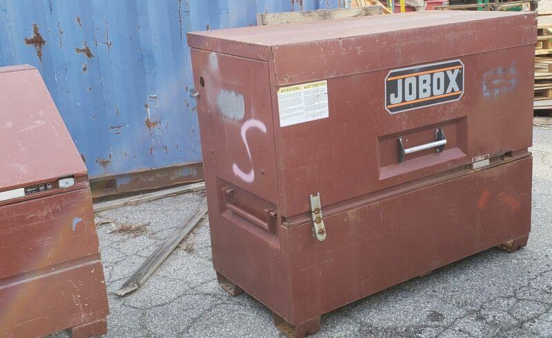 "JoBox 89 60"" Heavy-Duty Gang Box On-Site Jobsite Storage Chest"
