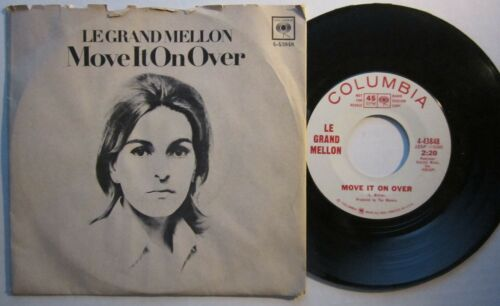 LEGRAND MELLON - MOVE IT ON OVER - MOD PSYCH DANCER COLUMBIA PROMO 45