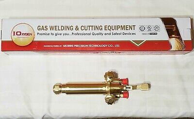 Ioxygen Victor Type Mt204 Short Barrel Machine Cutting Torch Pipe Bevel Track