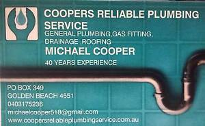Coopers Reliable Plumbing Service Caloundra Caloundra Area Preview