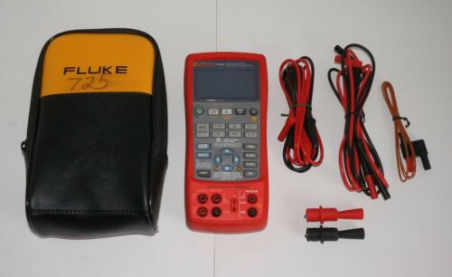 FLUKE 725EX INTRINSICALLY SAFE MULTIFUNCTION PROCESS LOOP CALIBRATOR USED