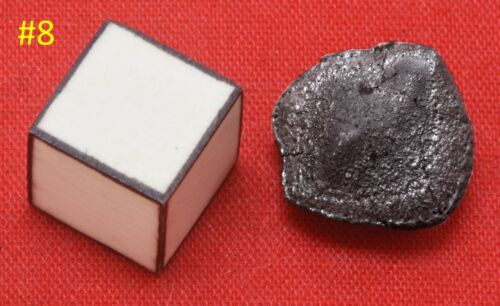#8 TARDA Superb gem oriented 1.416g 98% crusted CARBONACEOUS CHONDRITE C2 UNGR
