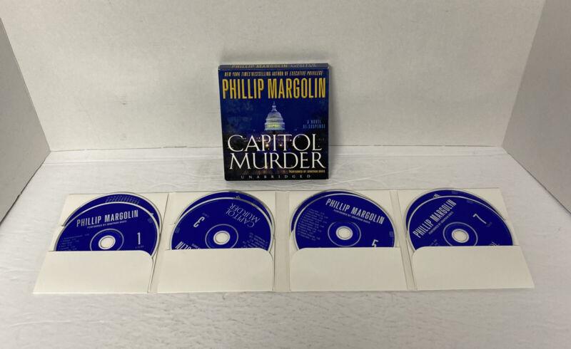 Capitol Murder by Phillip Margolin on 8 cds unabridged