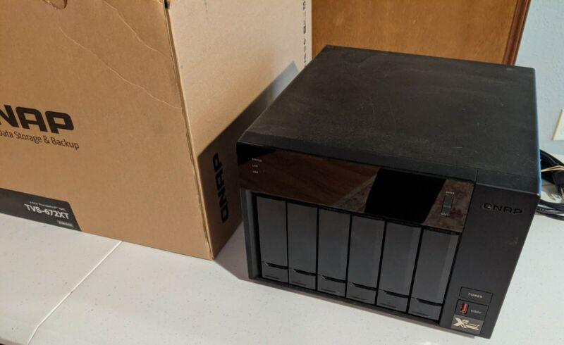 QNAP TVS-672XT 6-Bay Thunderbolt 3 *32GB* NAS Enclosure 10GbE SSD