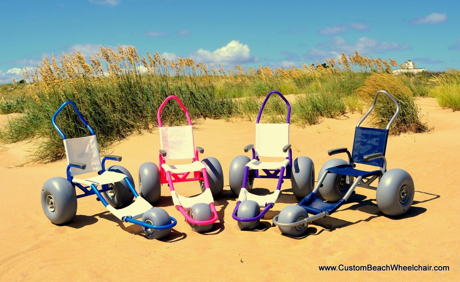 Sand Rider Custom Beach Wheelchairs