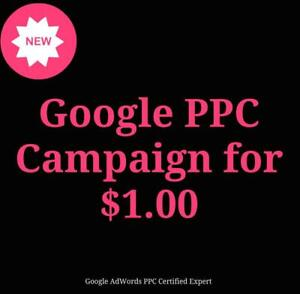 Create Your Own Pay Per Click Campaign For Just $1.00 - Call Us Today 647-806-7948