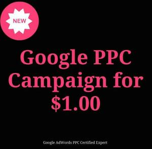 Make Your Own PPC Google adWords Campaign For $1.00 - Toronto - Sale Call Now 647-806-7948