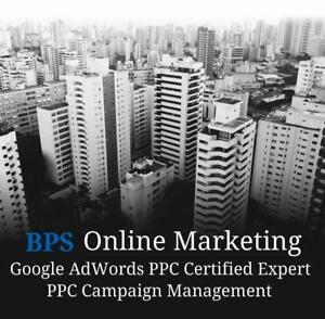 Google AdWords Professional: PPC Management Services - Call Now 647-641-3951 - 30% OFF
