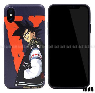 Dragon Ball Z Goku A Bathing Ape Bape Phone Case For iPhone XS Max XR X 8 7 Plus