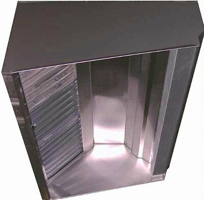 Superior Hoods Quick Ship 4ft Stainless Steel Restaurant Range Grease Hood