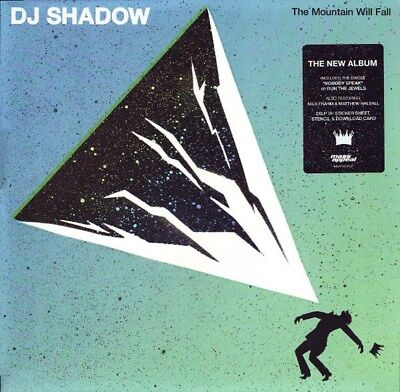 DJ SHADOW The Mountain Will Fall LP Vinyl NEU