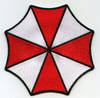 FANCY DRESS HALLOWEEN COSTUME PROP: Resident Evil UMBRELLA CORPORATION LOGO (Umbrella Corporation Halloween Costumes)