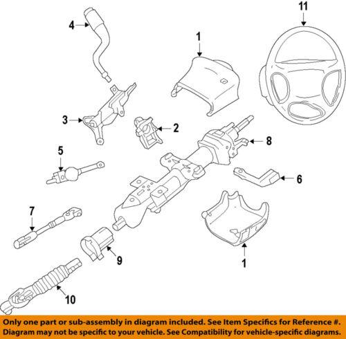 Details About GM OEM Steering Column Lower Shaft 25979051