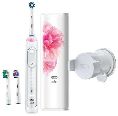 BRAUN Oral-B Genius 9000 Floral Design Package Electric toothbrush Fast Shipping