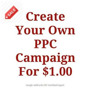 Create Your Own Google Ads PPC Campaign For $1.00 - Call Us Now 647-803-9514