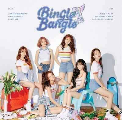 AOA 5th Mini Album [Bingle Bangle] Ready Ver CD+Booklet+P.Card+Postcard+Sticker