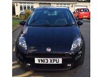 Fiat Punto 2013 Jet Black edition 1.4 petrol great condition!!!