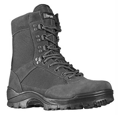 Tactical Boots m. YKK Zipper urban grey, Camping, Outdoor, Military -NEU- Tactical Military Boots