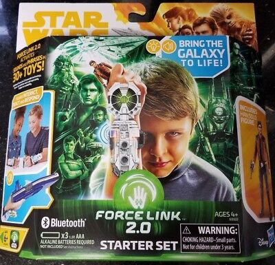 """Star Wars 3.75"""" Han Solo Story FORCE LINK 2.0 STARTER SET WAVE 16 NEW IN STOCK"""