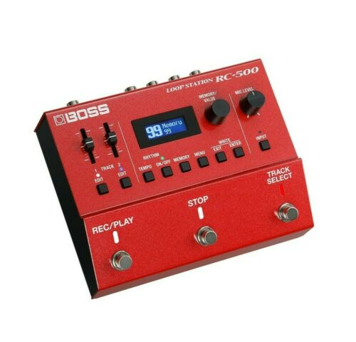 Used Boss RC-500 Loop Station Guitar Effects Pedal