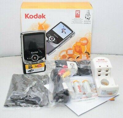 Kodak Zi6 Pocket Video Camera Camcorder - Black