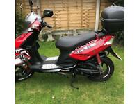 50cc Moped Generic Sirion KSR Moto