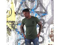LC Longline Fitted T-Shirt – Green