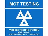 Mot tester seeks part time/full time work